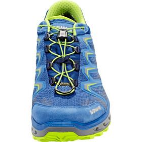 Lowa Aerox GTX Low Shoes Herren royal/lime